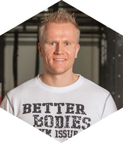 Antti Huttunen - Crossfit-valmentaja